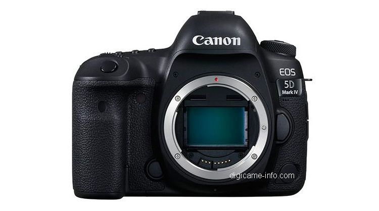 Изображения и характеристики фотокамеры Canon EOS 5D Mark IV